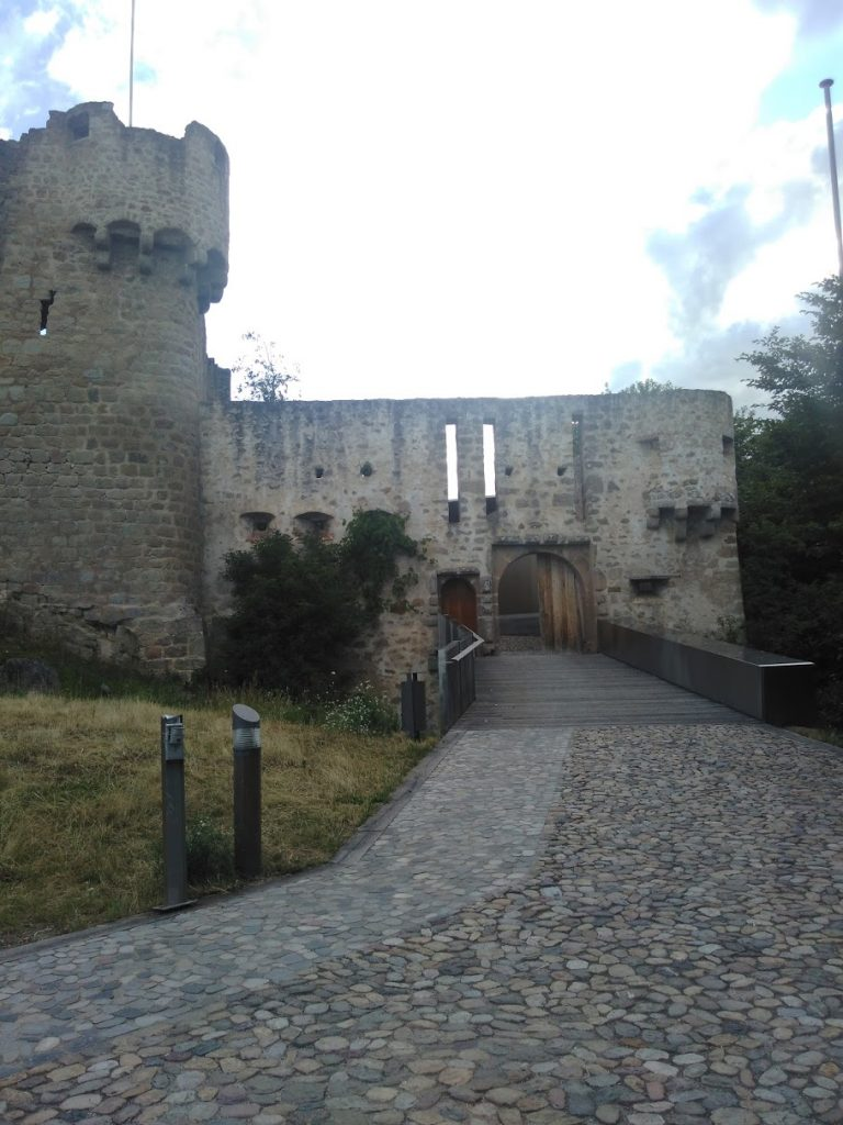 Entrance - Chateau Hohlandsbourg