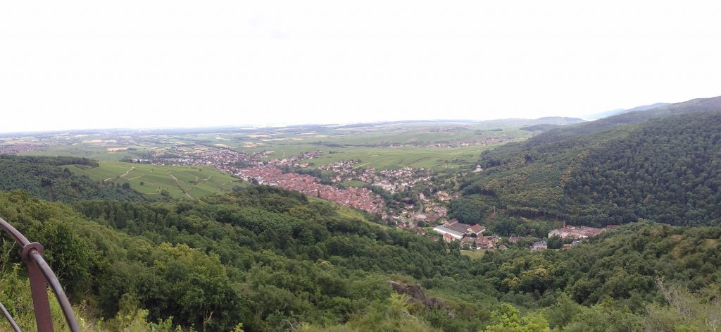 View of Ribeauville from St. Ulrich