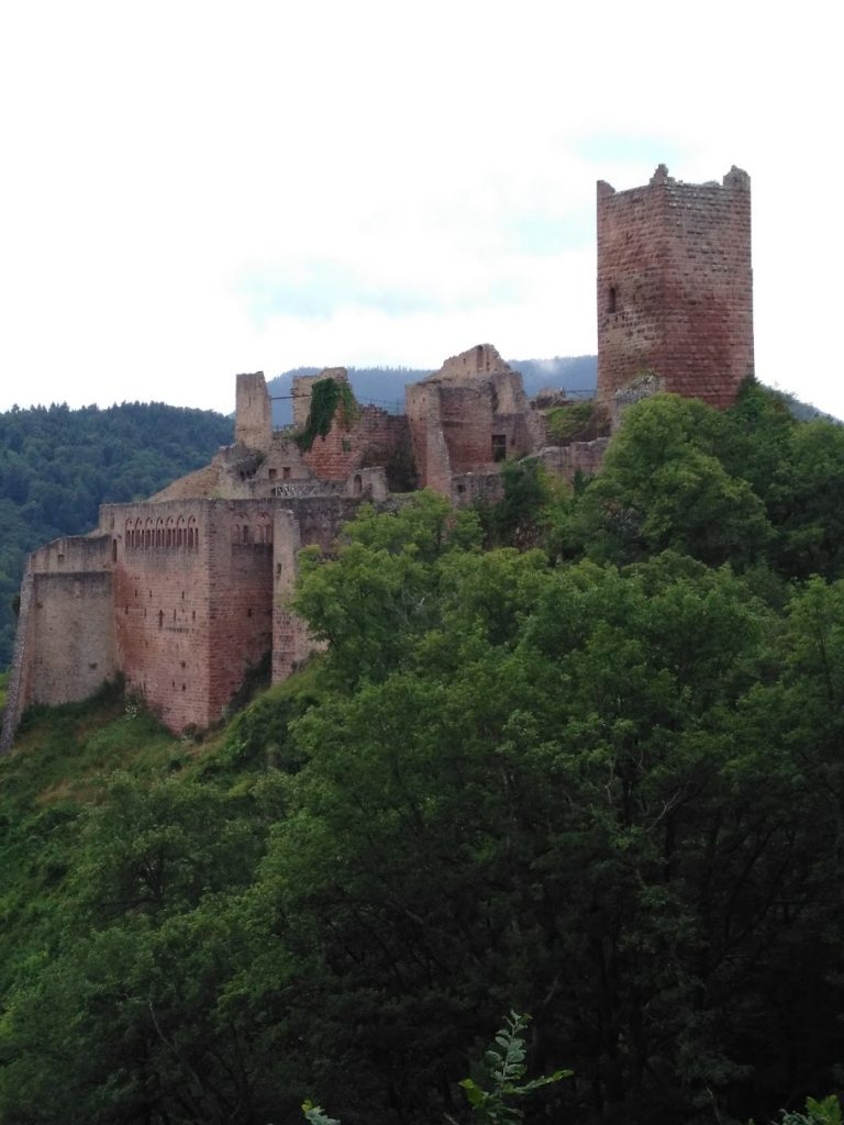 St Ulric castle seen from Giersberg