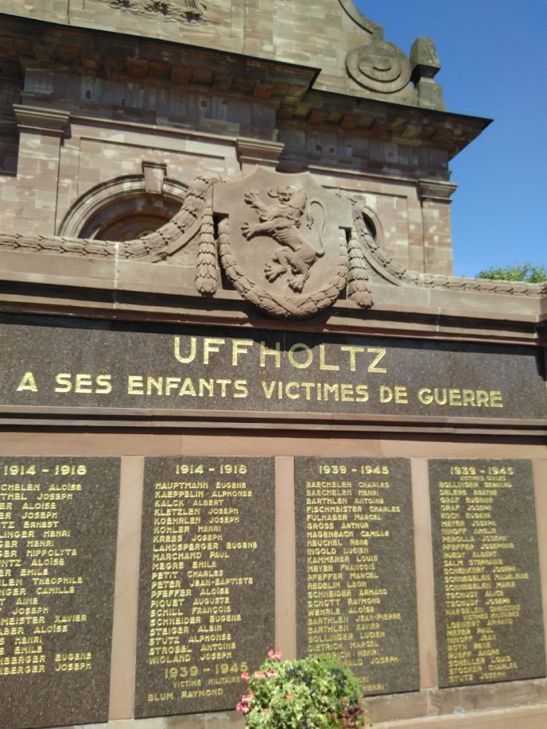 Uffhotz War Memorial