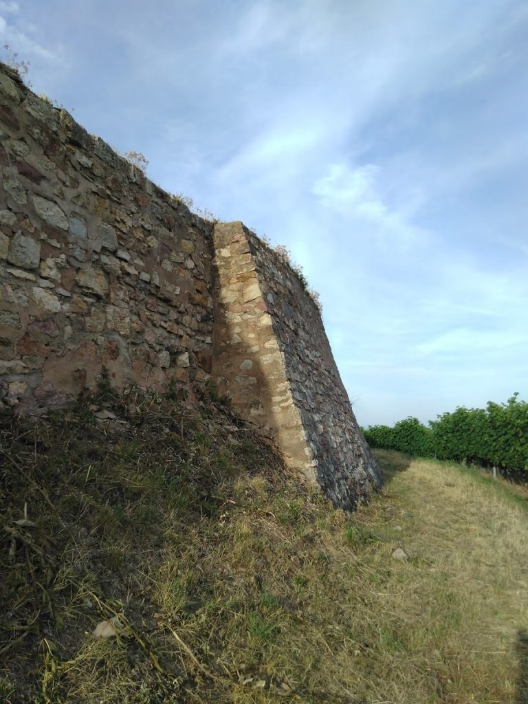 Castle Wineck - Wall detail