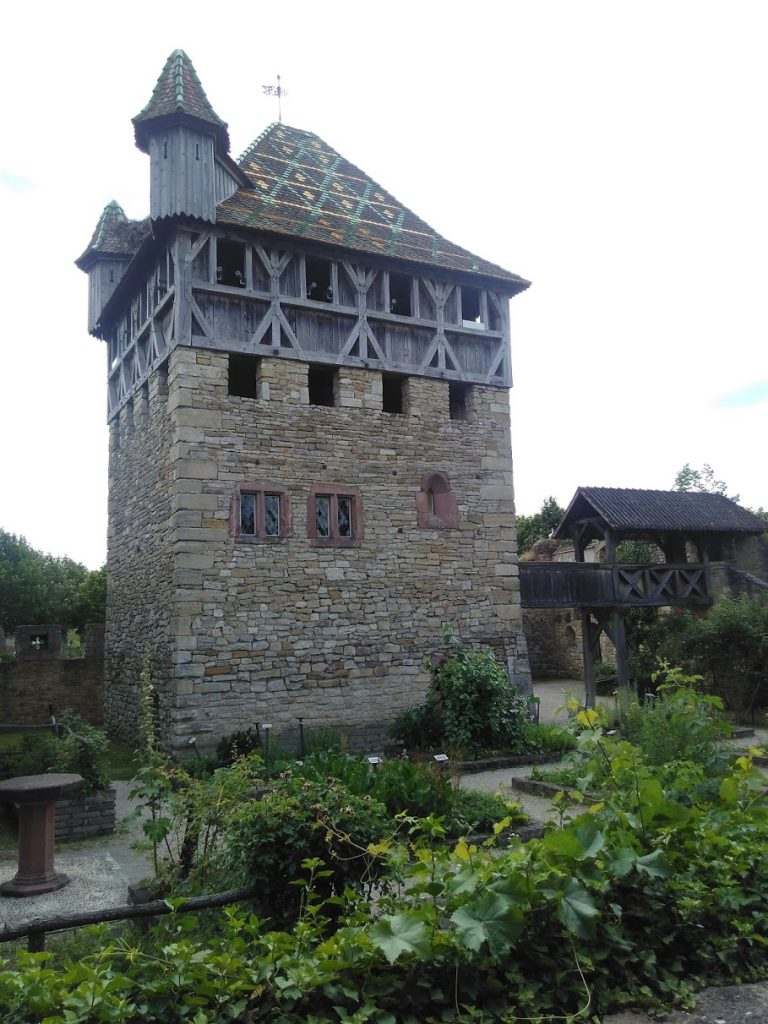 "Medieval ""Strong House"" reconstructed at the Ecomusee d'Alsace"